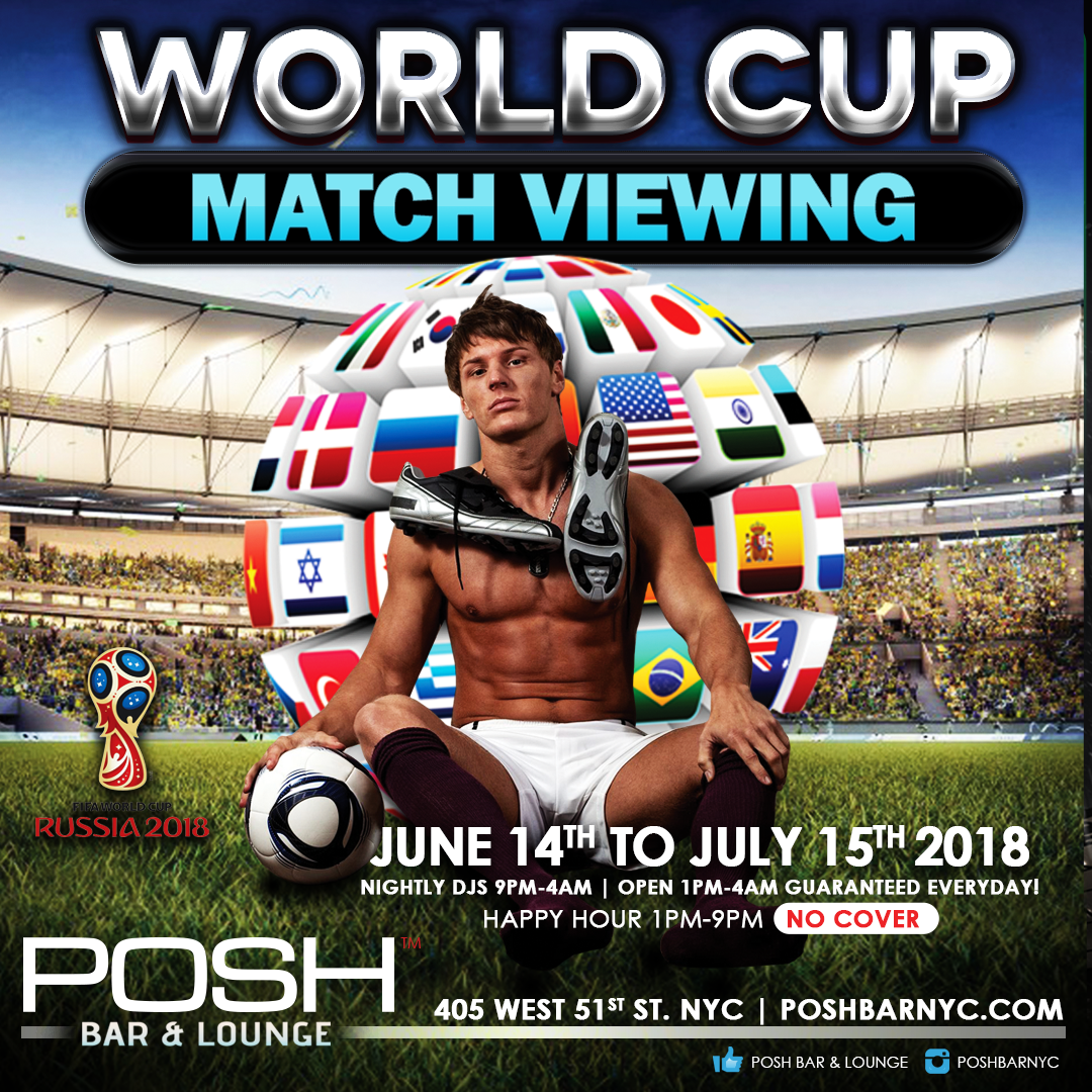 World Cup 2018 Match Viewing